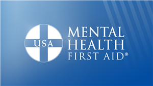 Graphic for Mental Health First Aid